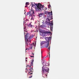 Thumbnail image of flowers purple Sweatpants, Live Heroes
