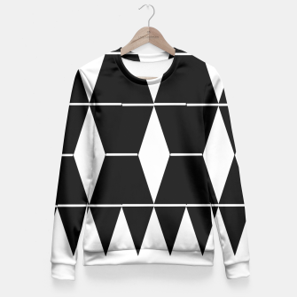 Thumbnail image of Shapes Fitted Waist Sweater, Live Heroes