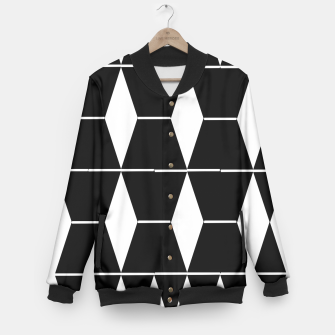 Thumbnail image of Shapes Baseball Jacket, Live Heroes