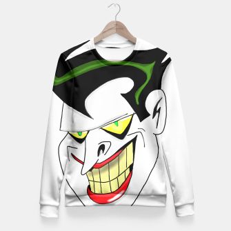 Thumbnail image of The Joker! Fitted Waist Sweater, Live Heroes