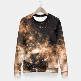 Thumbnail image of NEBULA TWILIGHT Fitted Waist Sweater, Live Heroes