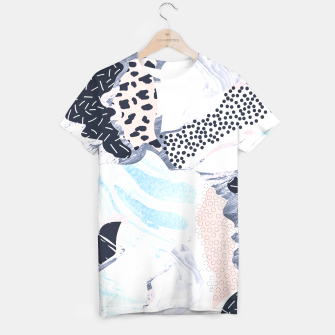 Thumbnail image of Illustration abstract textures Camiseta, Live Heroes