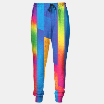 Thumbnail image of Pattern 4  Sweatpants, Live Heroes