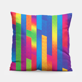 Thumbnail image of Pattern 4  Pillow, Live Heroes