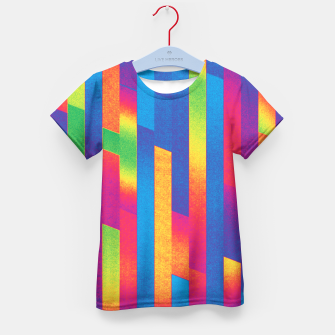 Thumbnail image of Pattern 4  Kid's T-shirt, Live Heroes