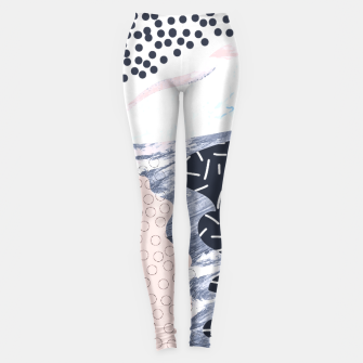 Thumbnail image of Illustration abstract textures Leggings, Live Heroes