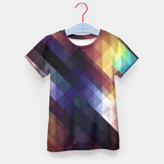 Thumbnail image of Pattern 5 Kid's T-shirt, Live Heroes