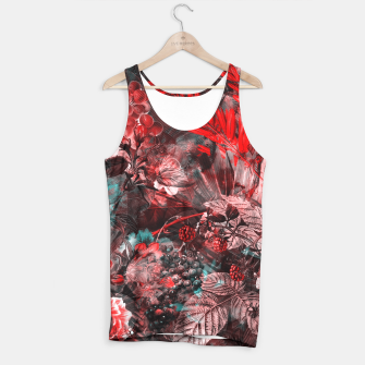 Thumbnail image of flowers red blue Tank Top, Live Heroes