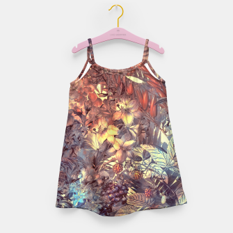 Thumbnail image of flowers and fruits Girl's Dress, Live Heroes