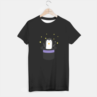 Thumbnail image of Penguin magician   T-shirt regular, Live Heroes