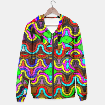 Thumbnail image of Trippy Psychedelic Pattern  Hoodie, Live Heroes