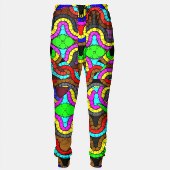 Thumbnail image of Trippy Psychedelic Pattern  Sweatpants, Live Heroes