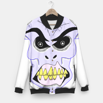 Thumbnail image of Evil Dude Baseball Jacket, Live Heroes