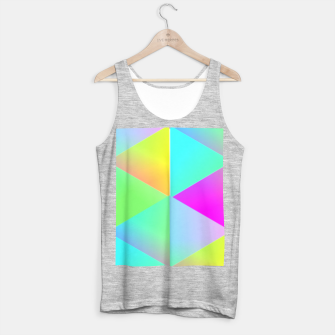 Thumbnail image of Popping Rainbow Glow Geometric Print Tank Top regular, Live Heroes