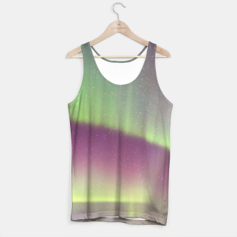 Polar Light over mountains Tank Top thumbnail image