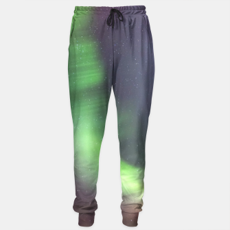 Thumbnail image of Polar Light over mountains Sweatpants, Live Heroes