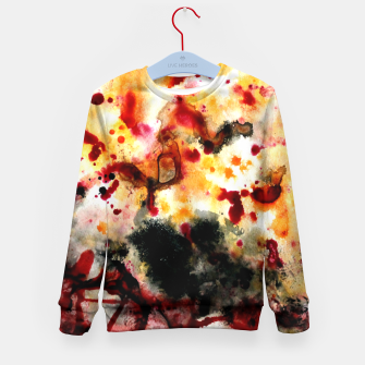 Thumbnail image of Autumn Sunrise Kid's Sweater, Live Heroes