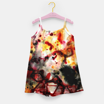 Thumbnail image of Autumn Sunrise Girl's Dress, Live Heroes