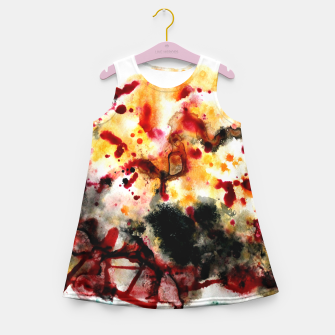 Thumbnail image of Autumn Sunrise Girl's Summer Dress, Live Heroes