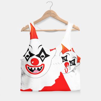 Thumbnail image of Scary Clowns Just Clowning Around  Crop Top, Live Heroes