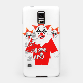 Thumbnail image of Scary Clowns Just Clowning Around  Samsung Case, Live Heroes