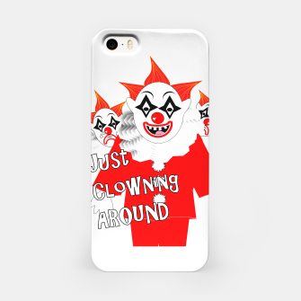 Thumbnail image of Scary Clowns Just Clowning Around  iPhone Case, Live Heroes