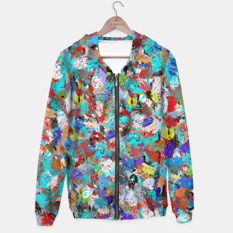 Miniatur Just Coloful Abstract Painting  Hoodie, Live Heroes