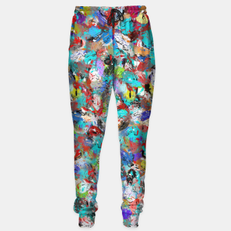 Miniatur Just Coloful Abstract Painting  Sweatpants, Live Heroes