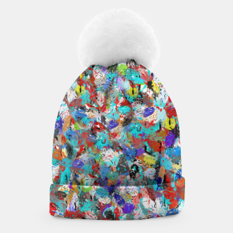 Miniatur Just Coloful Abstract Painting  Beanie, Live Heroes