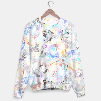 Thumbnail image of Soft Colors Abstract Painting  Sweater, Live Heroes