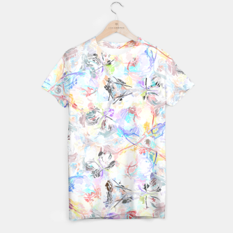 Thumbnail image of Soft Colors Abstract Painting  T-shirt, Live Heroes