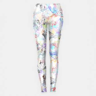 Thumbnail image of Soft Colors Abstract Painting  Leggings, Live Heroes