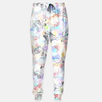Thumbnail image of Soft Colors Abstract Painting  Sweatpants, Live Heroes