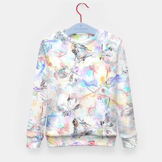 Thumbnail image of Soft Colors Abstract Painting  Kid's Sweater, Live Heroes