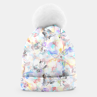 Thumbnail image of Soft Colors Abstract Painting  Beanie, Live Heroes