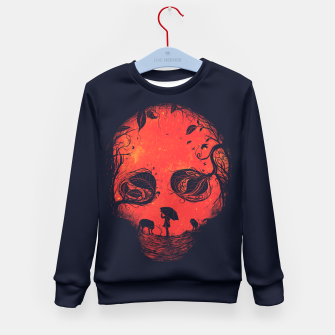 Thumbnail image of Red Encounter Kid's Sweater, Live Heroes