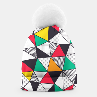 Thumbnail image of Geometrical Life Beanie, Live Heroes