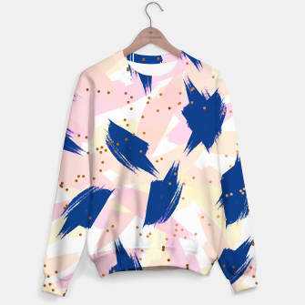 Thumbnail image of Abstract Painting V3 Sweater, Live Heroes