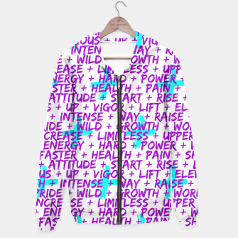 Thumbnail image of Hard Workout Hoodie, Live Heroes