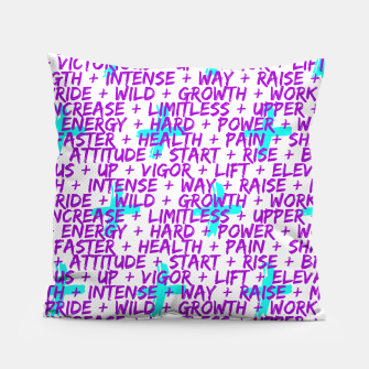 Thumbnail image of Hard Workout Pillow, Live Heroes