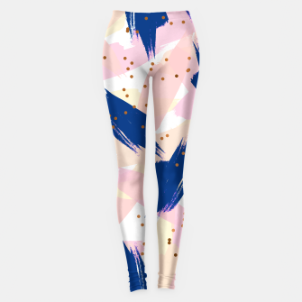 Thumbnail image of Abstract Painting V3 Leggings , Live Heroes