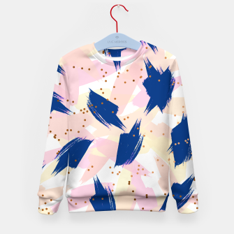 Thumbnail image of Abstract Painting V3 Kid's sweater, Live Heroes