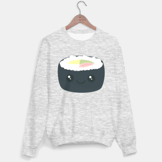Miniatur Smiling Sushi with Vegetables Sweater regular, Live Heroes