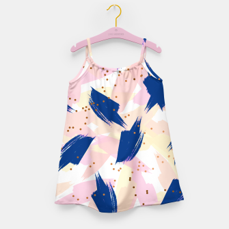 Thumbnail image of Abstract Painting V3 Girl's dress, Live Heroes