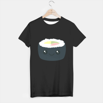 Miniatur Smiling Sushi with Vegetables T-shirt regular, Live Heroes