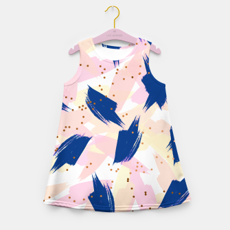 Thumbnail image of Abstract Painting V3 Girl's summer dress, Live Heroes