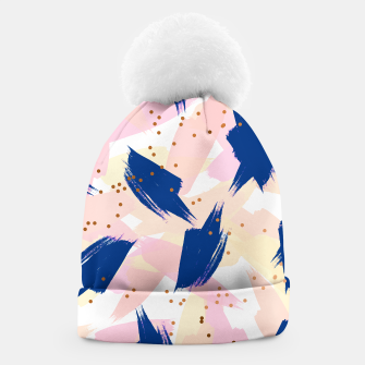 Thumbnail image of Abstract Painting V3 beanie, Live Heroes