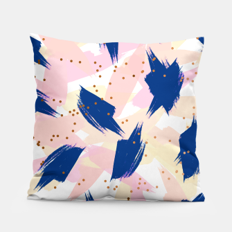 Thumbnail image of Abstract Painting V3 pillow, Live Heroes
