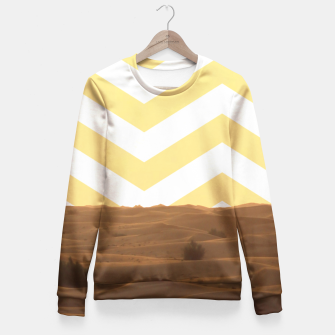 Thumbnail image of Desert Lifestyle Fitted Waist Sweater, Live Heroes