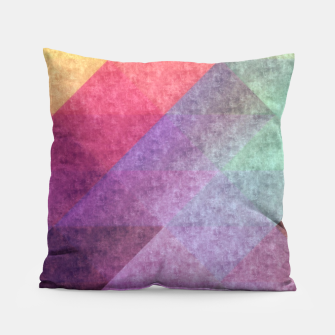 Thumbnail image of Pattern 8 Pillow, Live Heroes